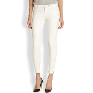 J Brand White The Deal: Skinny Ankle Jeans Size 26